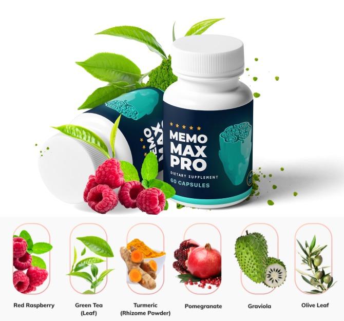 Memo Max Pro Ingredients Label