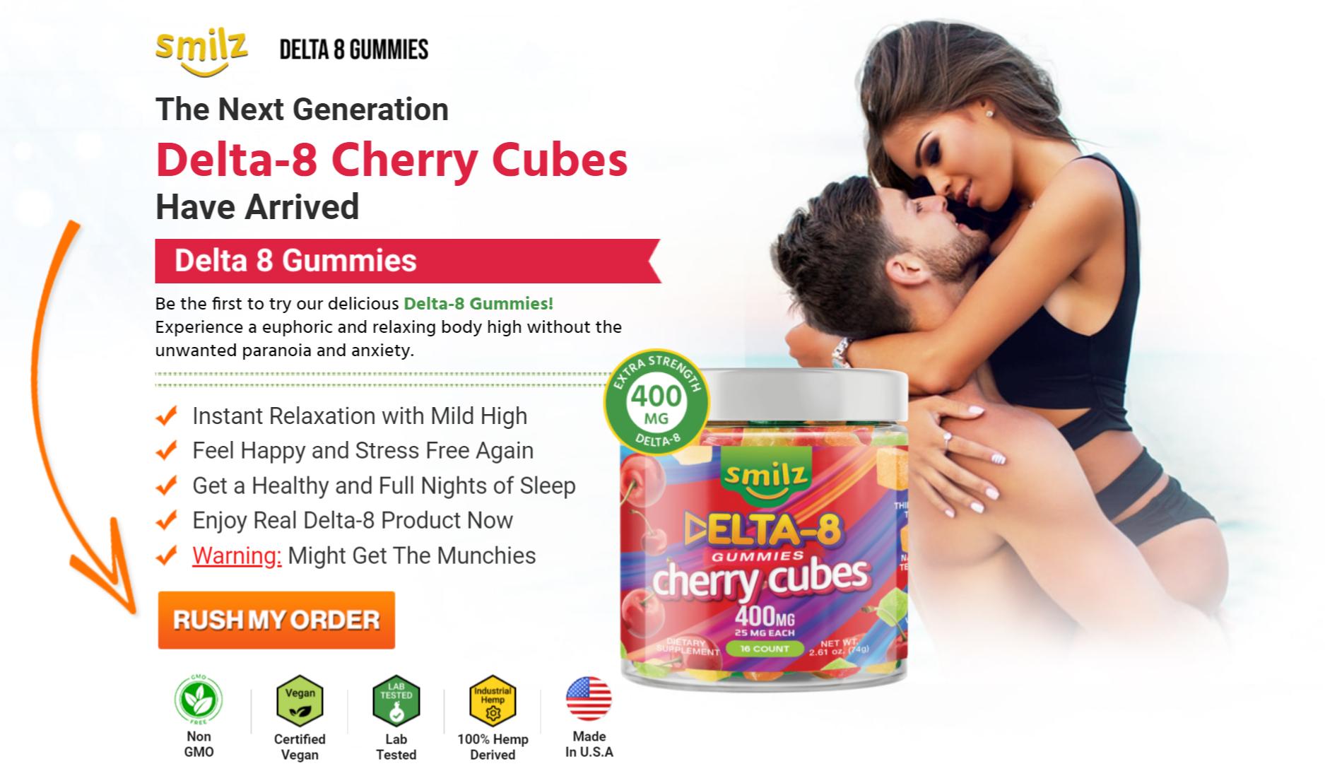 Buy Smilz Delta 8 Gummies