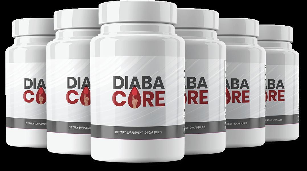 Diabacore Ingredients Label
