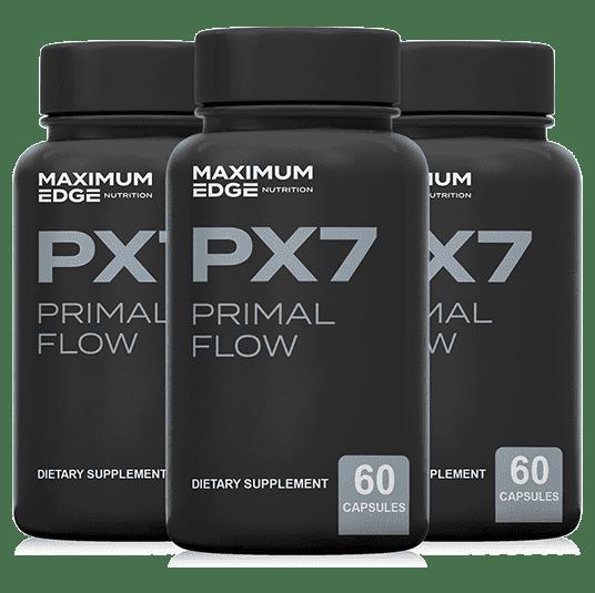 PX7 Primal Flow Ingredients Label