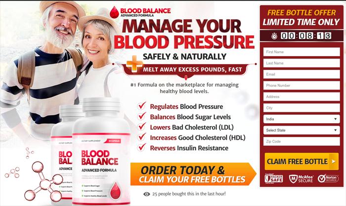 Buy blood balance advanced formula
