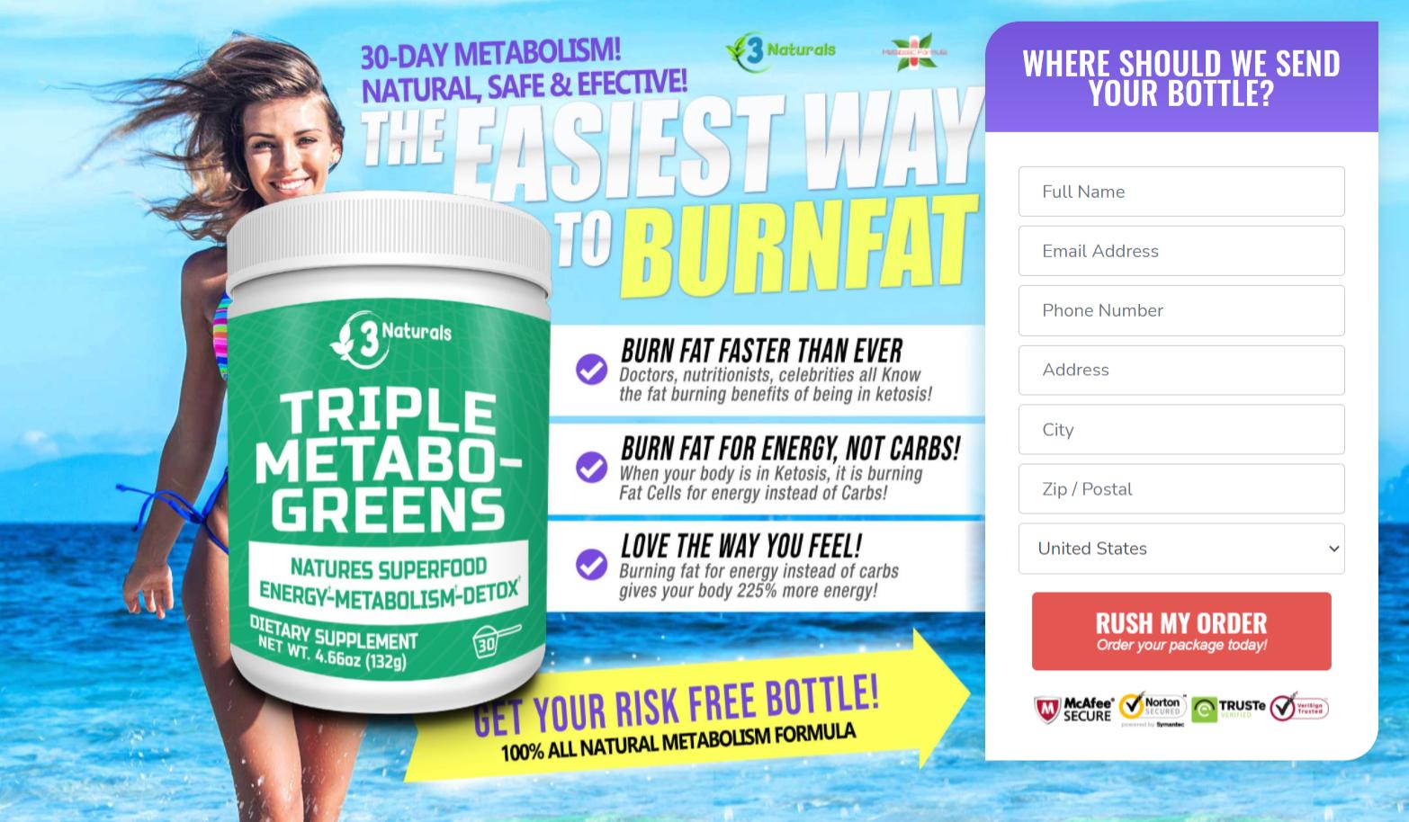 Buy Triple Metabo-Greens