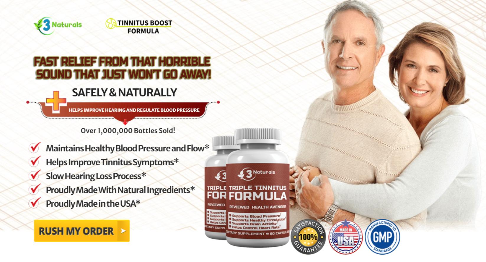 Buy Triple Tinnitus Formula
