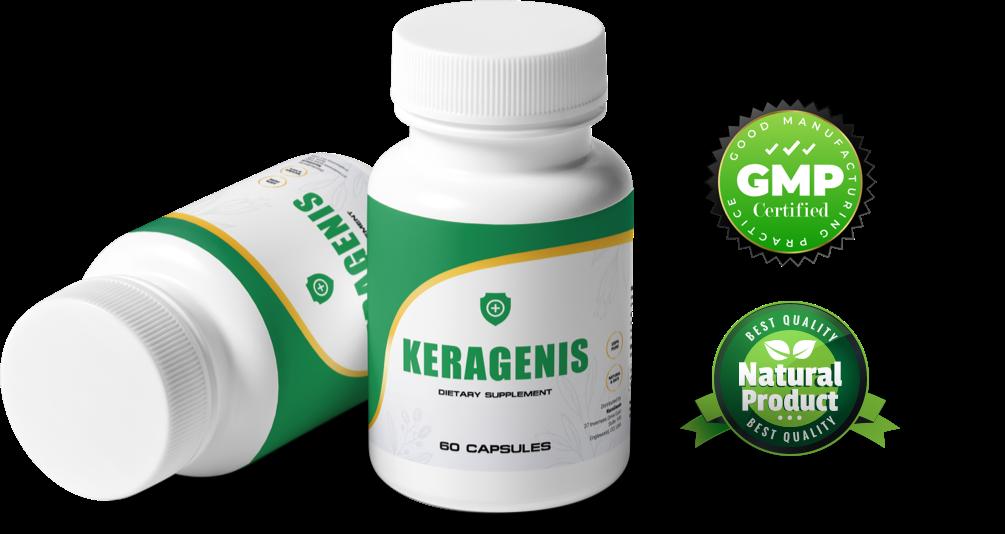 KeraGenis anti nail fungus dietary supplement