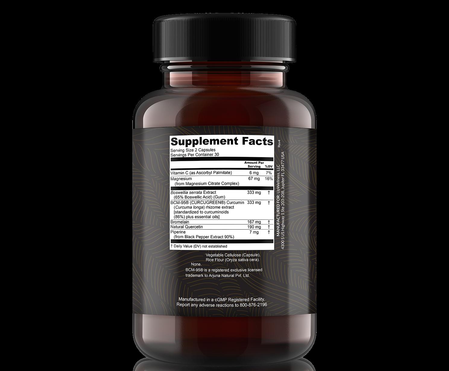 golden revive plus ingredients label